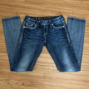 Rock Revival size 26 Ashley Straight Easy Jeans